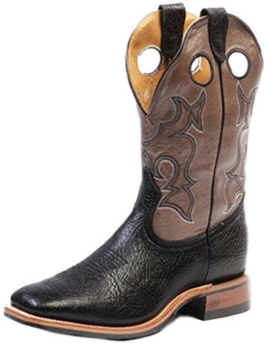 Bottes américaines - bottes western BO-9164-65-E (pied normal) - Homme - Noir