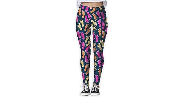 ANTOUZHE Pantalones de Yoga, Pantalones de Mujer Man Tracks ...
