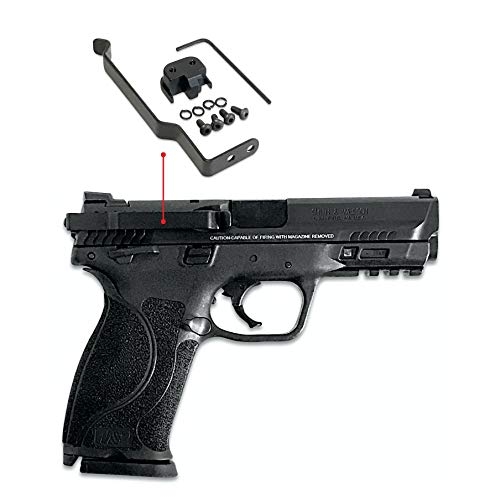 52ee5a92 ClipDraw Gun Clip, Smith and Wesson M&P Full Compact & 2.0, 9mm/.