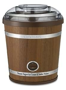 Cuisinart ICE-35 2-Quart Wooden Ice Cream Maker