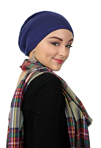 Parkhurst Hat Slouchy Beanie Chemo Headwear Ladies Knit Snood Cancer Cap Head Coverings Covi