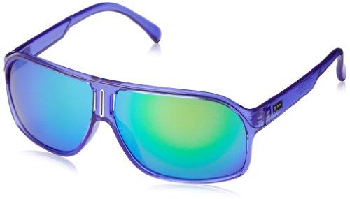 Dot Dash Cannonball Oval Sunglasses,Purple Translucent,62 - Dot Dash Sunglasses