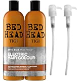 Tigi by Bed Head Colour Goddess Shampoo & Conditioner (2 x 750ml) with Tigi Pumps
