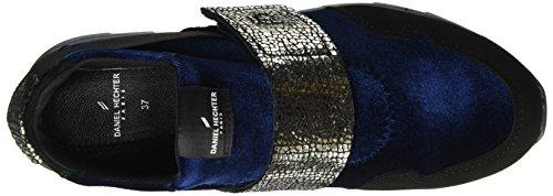 Daniel Hechter Ladies 927293613469 Sneaker Blu (blu Scuro / Nero)