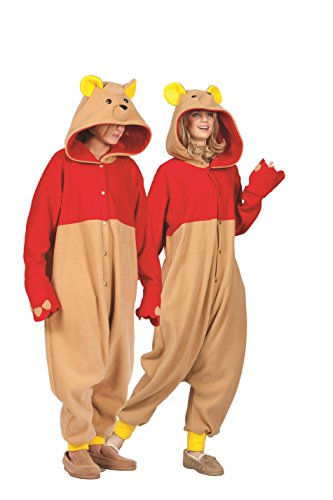 Honey Bear Costumes Adults (RG Costumes Honey Bear, Tan, Red/Yellow, One Size)