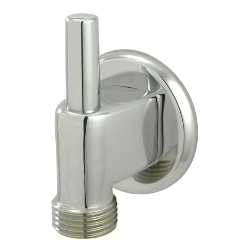 Kingston Brass K174A1 Designer Trimscape Showerscape Wall Mount Water Supply Elbow with Pin Wall Hook, Polished Chrome