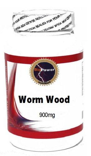 Worm Wood 900mg 90 Capsules # BioPower Nutrition