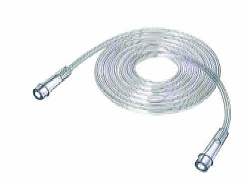 Oxygen Tubing-7' Star Lumen Clear Latex-free ()