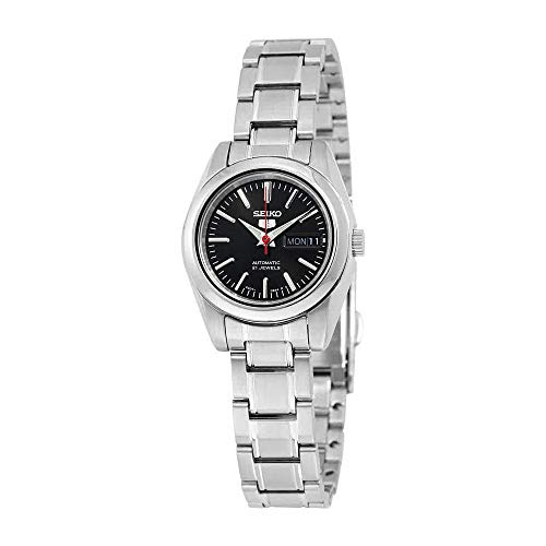 267295915 Seiko 5 #SYMK17K1 Women's Black Dial Self Winding Automatic Watch - Buy  Online in Oman.   Watches Products in Oman - See Prices, Reviews and Free  Delivery ...