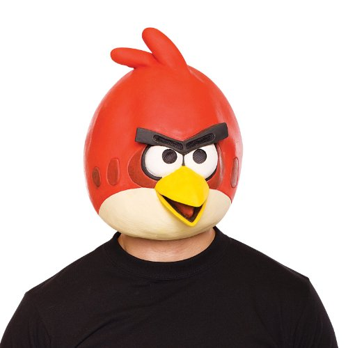 Paper Magic Angry Birds Mask, Red, One Size