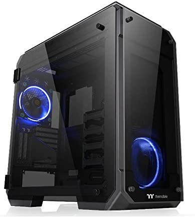 Thermaltake View 71 TG - Carcasa para PC, Color Negro