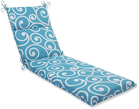 Pillow Perfect Outdoor Best Chaise Lounge Cushion Turquoise