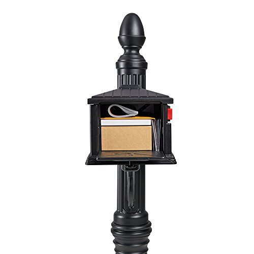 Gibraltar Mailboxes SC000B01 Stratford, Medium, Black