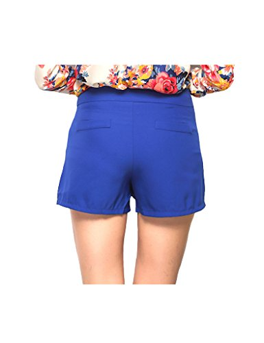 irrgulier Legou culotte couleur Blanc pure Femme Jupe qtw6xCtr