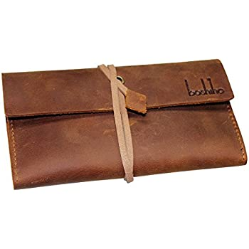 1 PCS PU Leather Tobacco Pouch Bag Rolling Paper Bag Humidor