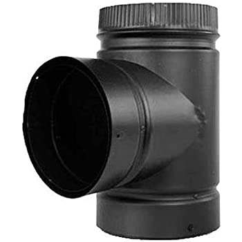 Selkirk Corp Dsp6te 1 Double Wall Pipe Tee 6 Inch