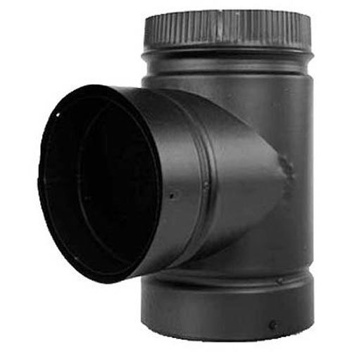 Double Wall Pipe (SELKIRK CORP DSP6TE-1 Double Wall Pipe Tee, 6-Inch)