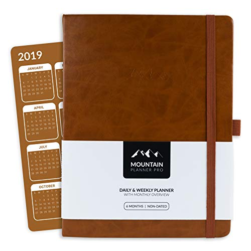 – LARGE Daily & Weekly Gratitude Journal + Monthly Calendar. Increase Productivity & Happiness, Track Budget & Goals in 2019. Hardcover, Pen Holder. 6 Months Undated Days. Luggage ()