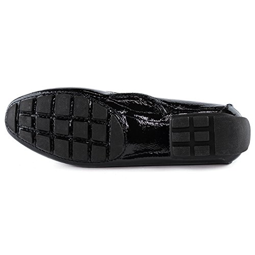 Style New York Marc Manhasset Brazil Made Loafer Black Joseph Patent in Women's Leather Driving f1vxwv