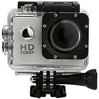 Boyiya 1080P HD Mini Waterproof Sports Recorder Car DV Action Camera Camcorder (Sliver)