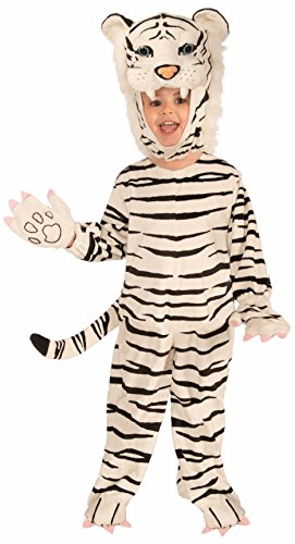 Children's Plush White Tiger Costume