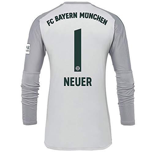 adidas Bayern Munich Home Neuer 1 Goalkeeper Jersey