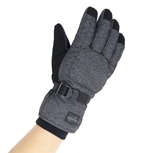Men/'s Waterproof Thinsulate Ski Snowboard Gloves Winter Warm Gloves w// Balaclava