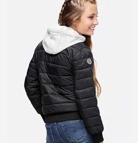 Black Justice Girls Quilted Lightweight Packable Jacket Size 6//7