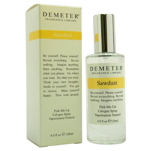 Demeter Cologne Spray for Women, Sawdust, 4 Ounce ()