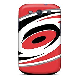 Durable Hard Cell-phone Case For Samsung Galaxy S3 With Custom High Resolution Carolina Hurricanes Pattern AlissaDubois