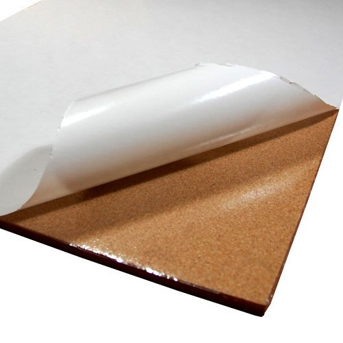 Cork Sheet with adhesive 48In X 25Ft X 1/16In (Cork Flooring Glue)