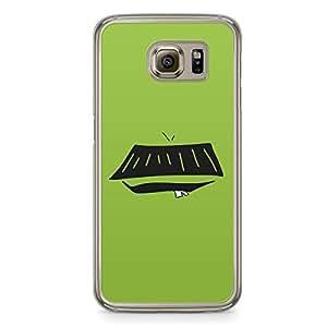 Smiley Samsung Galaxy S6 Transparent Edge Case - Design 12