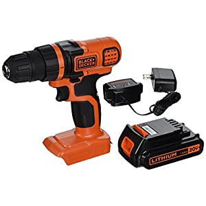BLACK+DECKER LDX120C 20V MAX Lithium Ion Drill/Driver