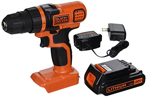 BLACK+DECKER LDX120C 20V MAX Lithium Ion Drill / Driver