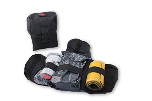 Tactical Medical Trauma Tool Kit - Combat Tourniquet - Israeli Compression Bandage - Roll Up Splint - MOLLE System - IFAK - Trauma Kit (Medical Kit)