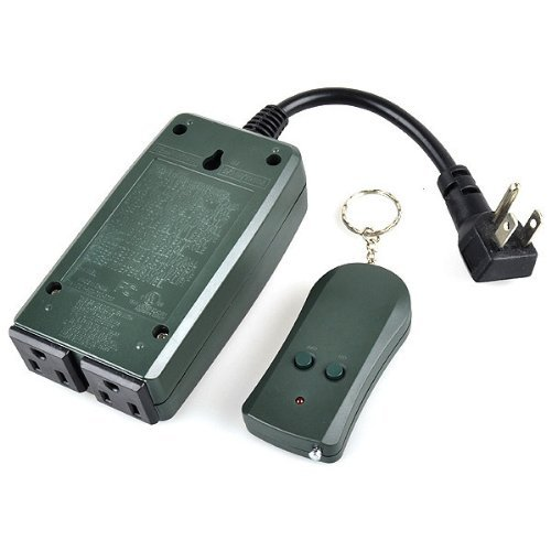 Outdoor Wireless Remote Control Power Outlet Switch