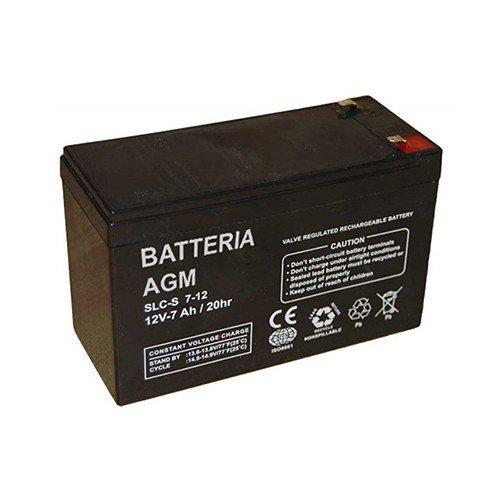Batteries AGM 12V 7Ah pour le photovoltaique, solar, les vehicules electriques PuntoEnergia Italia