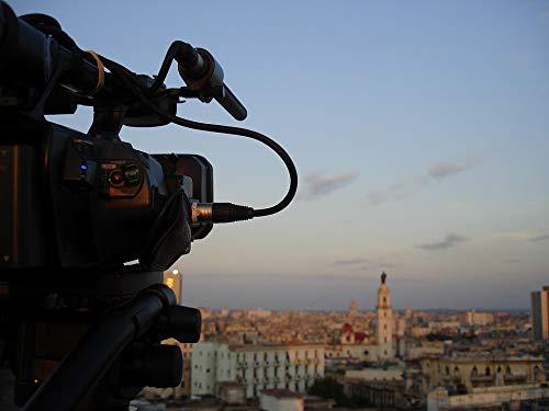 "Photography Poster - Shooting, Cinema, Camcorder, Cuba, 24""x18.5"", Gloss Finish"
