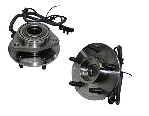 Detroit Axle Both (2) New Front Driver & Passenger Side Complete Wheel Hub and Bearing Assembly fits 2007-2011 Dodge Nitro - [2008-2012 Jeep Liberty] ()