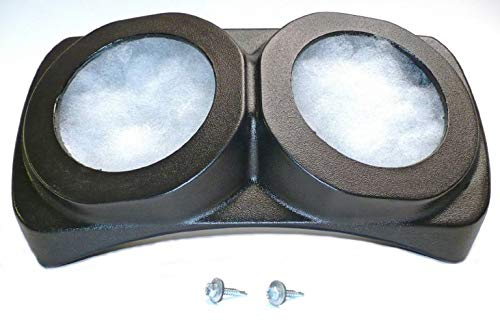 - Select Increments 1955-1995 Compatible with Jeep CJ YJ Wrangler Centra Pod Speaker Enclosure 91970