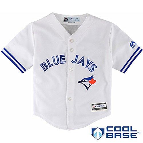 Toronto Blue Jays Kids Sizes 4-7 Team Home Jersey (Kids Medium 5/6)