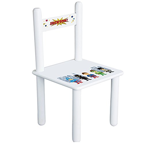 Personalized Boys Super Hero Child's Chair - ()