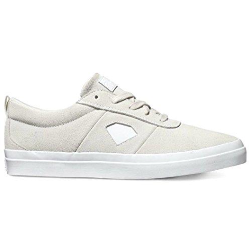 (Diamond Supply Co Icon Skateboard Shoes - White (9.5, White))
