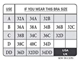 Braza - Sew in Bra & Swimwear Cups - Size B Beige