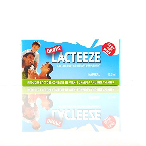 Lactase Enzyme Lacteeze Drops 15.5 ml Liquid by Gelda Sci (1)