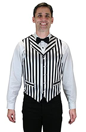 1920s Style Mens Vests Barbershop Dress Vest  AT vintagedancer.com
