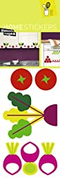 Home Stickers Graphic Vegetable Garden Decorative Wall Stickers