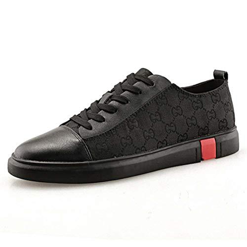 La De 44 Pied Leather Chaussures Pour Skate Shoes Mode Hommes Course À Sneaker black 1fOq1wztx