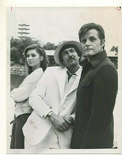 1979 Hawaii Five-O Jack Lord Victoria Principal TV Press Photo MBX94