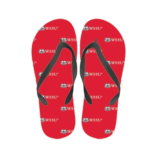 Winston Salem Dames Kleur Flip-flops Ram Wssu